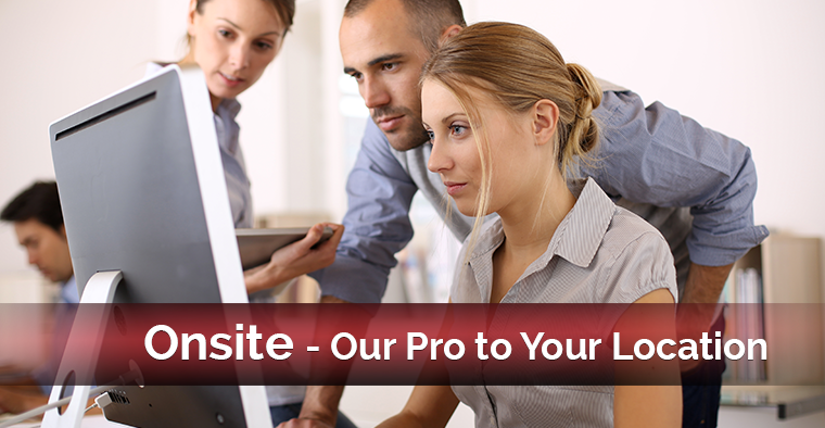 Schedule onsite training at your location.